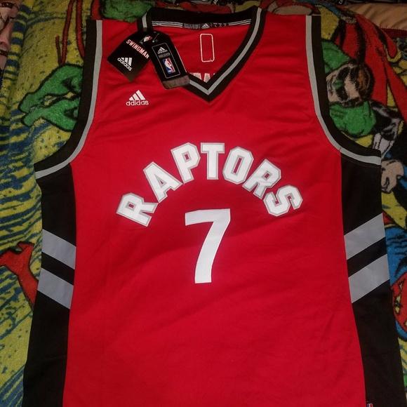 adfac616a67 adidas Shirts | Kyle Lowry Toronto Raptors Jersey Size Large | Poshmark